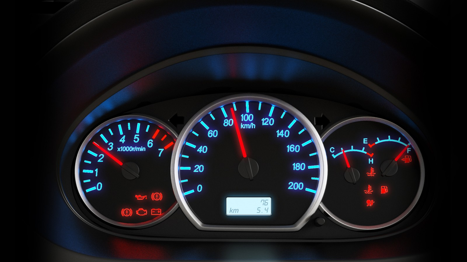 Vehicle Instrument Panel : Enjoy instrument cluster