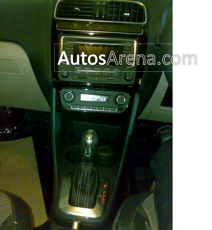 Polo GT TSI centre console