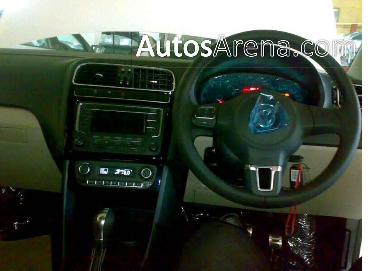 Polo GT TSI dashboard