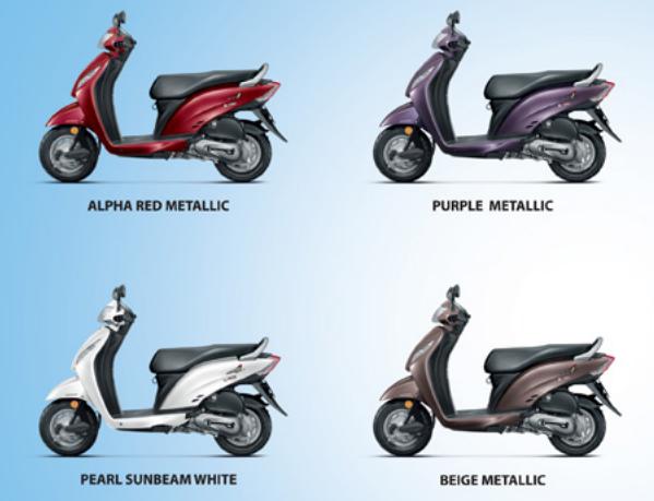 Honda Activa Colours