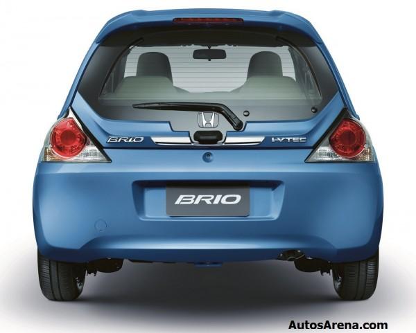 2013 Brio Rear Thailand