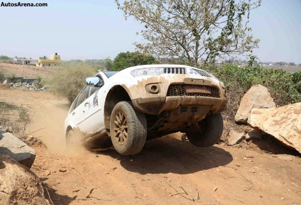 Pajero Sport Heart-in-Mouth adventure in Hyderabad