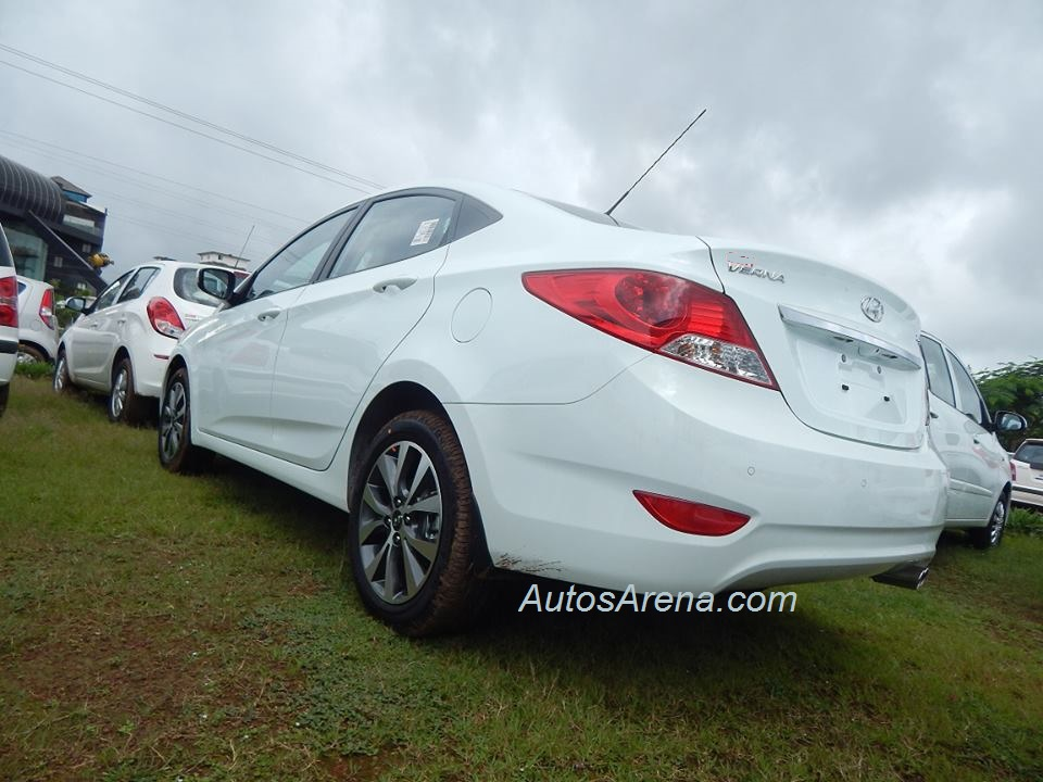 2013 hyundai verna with minor updates spotted launch soon