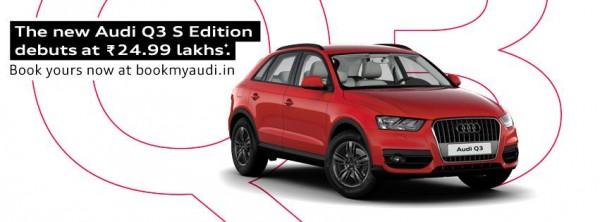 Audi Q3 S book online
