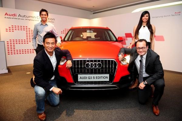 Audi Q3 S launch