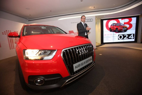 Audi Q3 S launched in India
