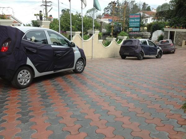Hyundai i10,i20, Eon facelift testing 2
