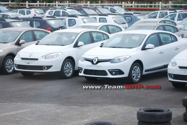 Renault Fluence Facelift pics in India