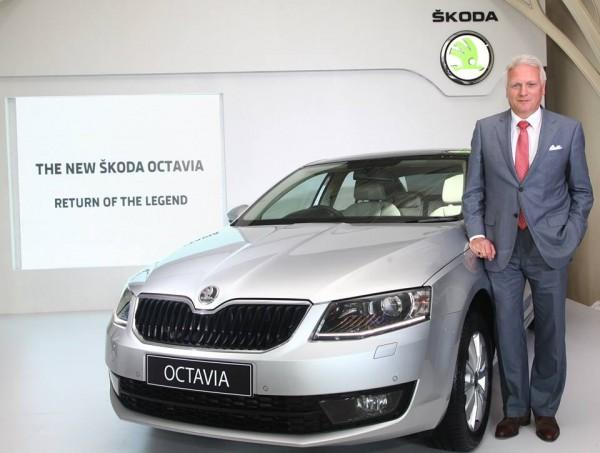 Skoda Octavia unveiled