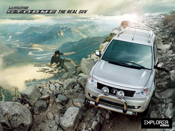Tata Safari Expoler Edition