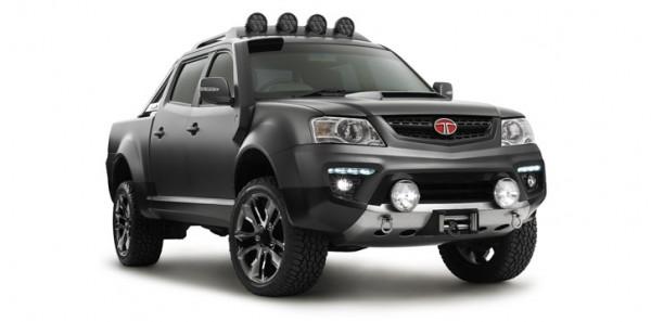 Tata XenonTuff-Truck Concept Front 3 qauter