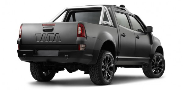 Tata XenonTuff-Truck Concept Rear