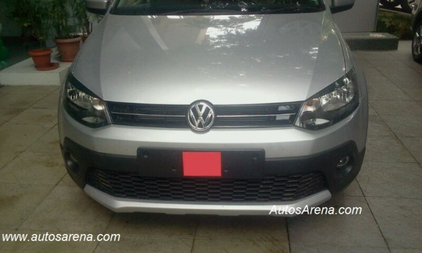 Volkswagen Cross Polo Front 1