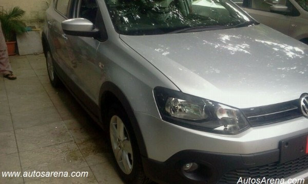 Volkswagen Cross Polo Front 2