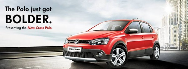 Volkswagen Cross Polo launched