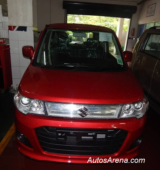 red hot maruti suzuki wagonr stingray images looks sporty. Black Bedroom Furniture Sets. Home Design Ideas