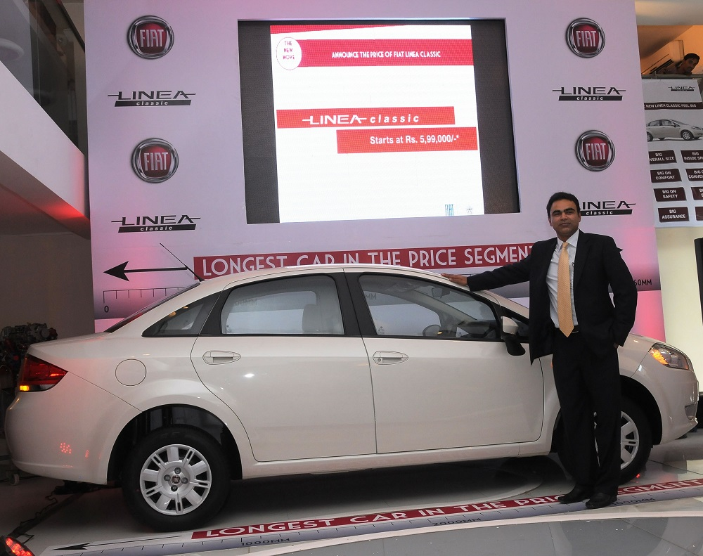 fiat launches its new volume spinner, linea classic -