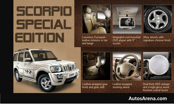 Mahindra Scorpio Special Edition features