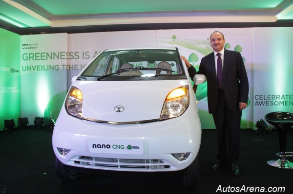 Nano eMax launch- Mr. Ankush Arora- Sr. Vice President, Passenger Vehicles Unit (Commercial), Tata Motor Ltd