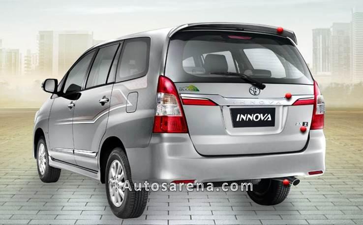 New Toyota Innova rear