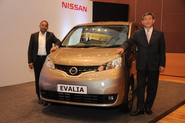 Nissan Evalia 2013 launch