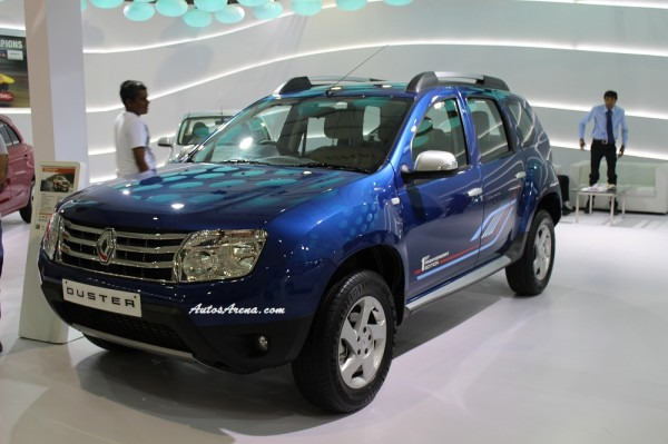 Renault Duster Anniversary Edition side (1)