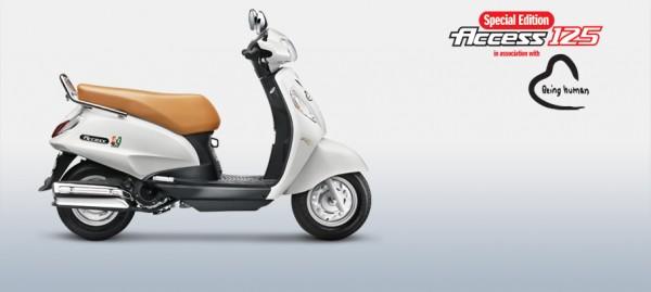 Suzuki Acess125 special Edition