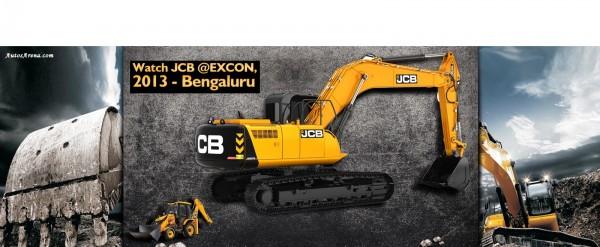 JCB at EXCON 2013