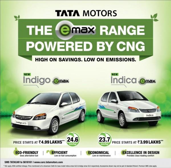 Tata Motors CNG range