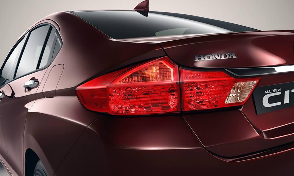 new Honda City rear