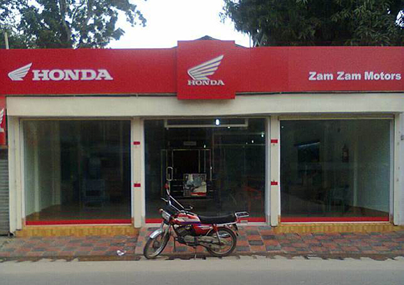 The authorized Honda motorcycle dealer in Tangail