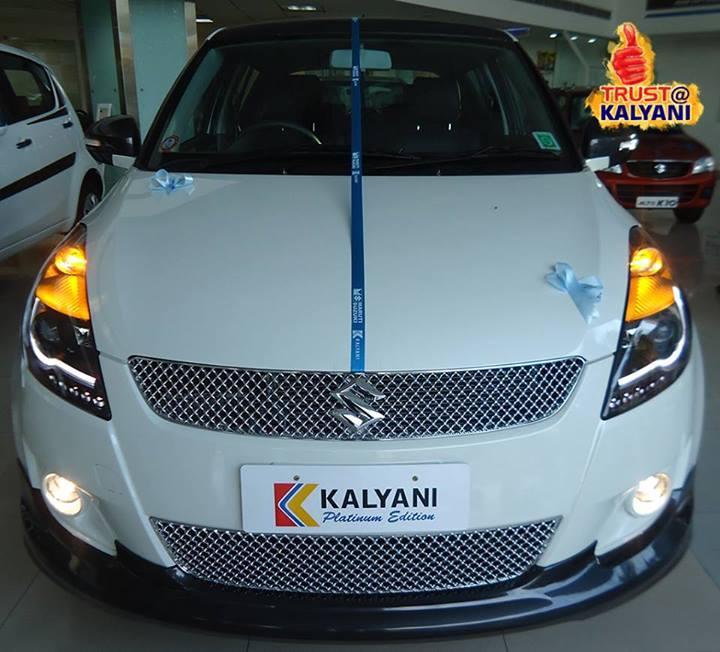 Kalyani Motors Introduce Maruti Swift Platinum Edition