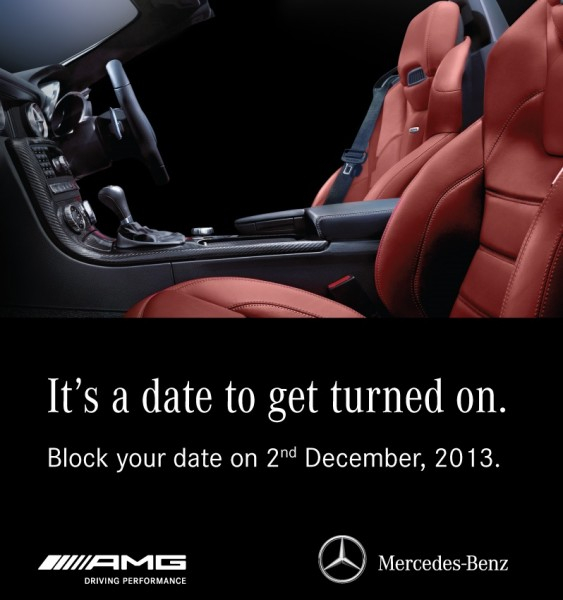 Mercedes-Benz to launch SLK 55 AMG on 2nd December