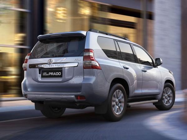 Toyota Land Cruiser Prado rear