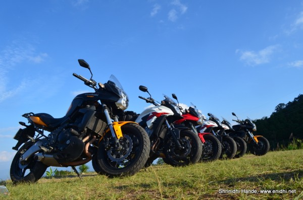 versys and the hondas