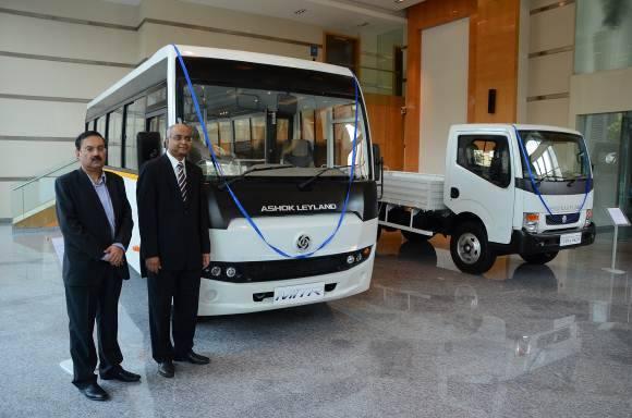Ashok Leyland Panther and MiTR bus