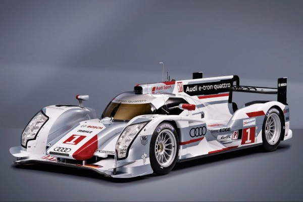 Audi R18 e-tron quattro showcase at Auto Expo