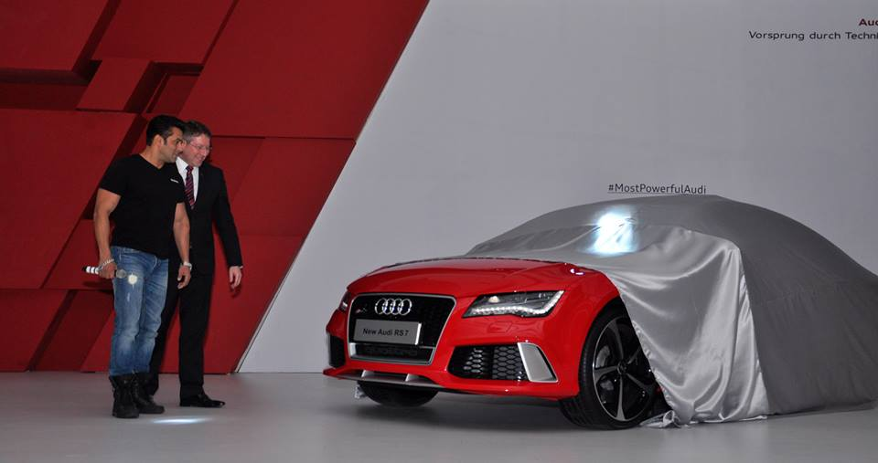 audi has launched the most powerful car in the indian market, the rs7  sportback at a starting price of rs  12,856,000 (1 28 crores)