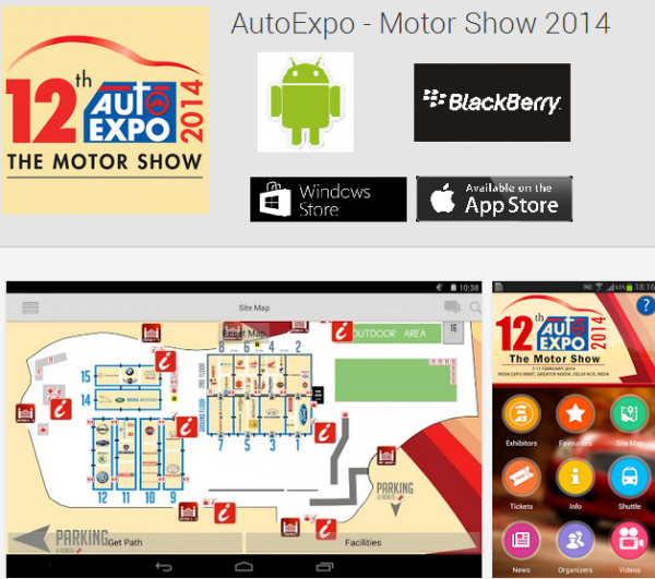Auto Expo App