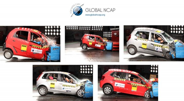 Global NCAP Indian cars Test results