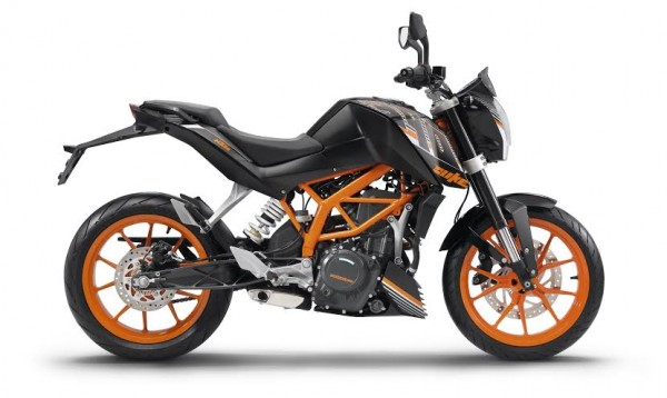 KTM Duke 390 Midnight Black 2