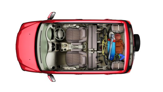 Image Result For Ford Ecosport Luggage Space