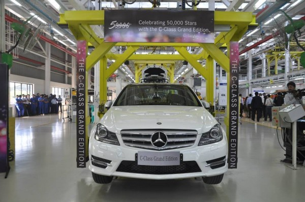 Mercedes-Benz India 50,000th car roll out