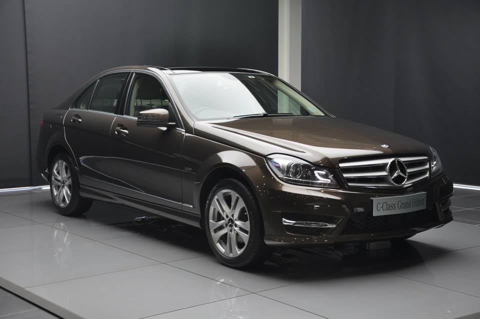mercedes benz launches c class grand edition. Black Bedroom Furniture Sets. Home Design Ideas