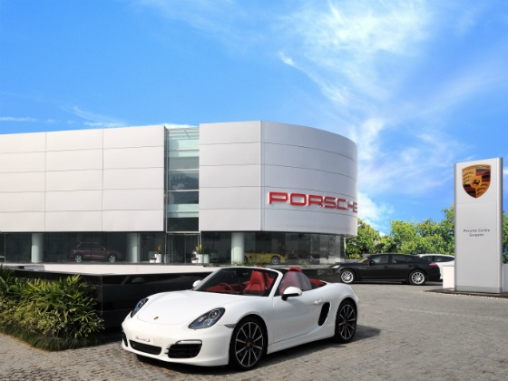 Porche Gurgaon Dealership
