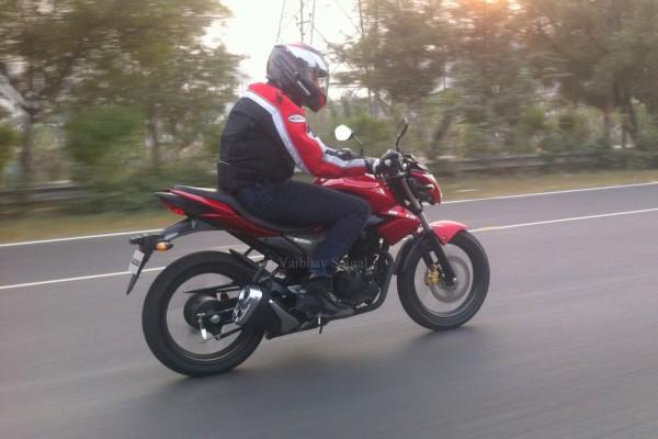 Suzuki Gixxer 150 caught testing