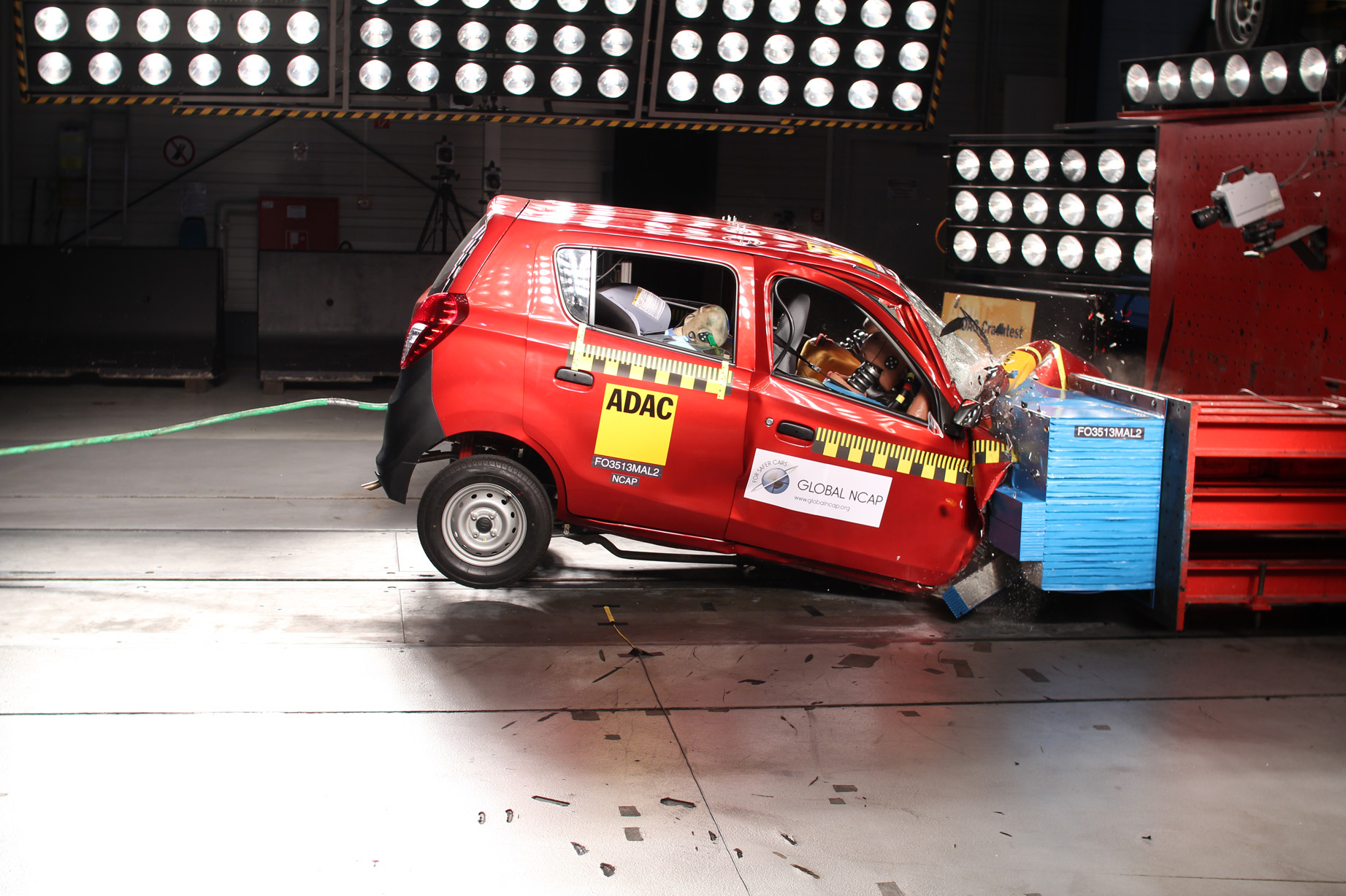 Indian Cars Test Crash NCAP