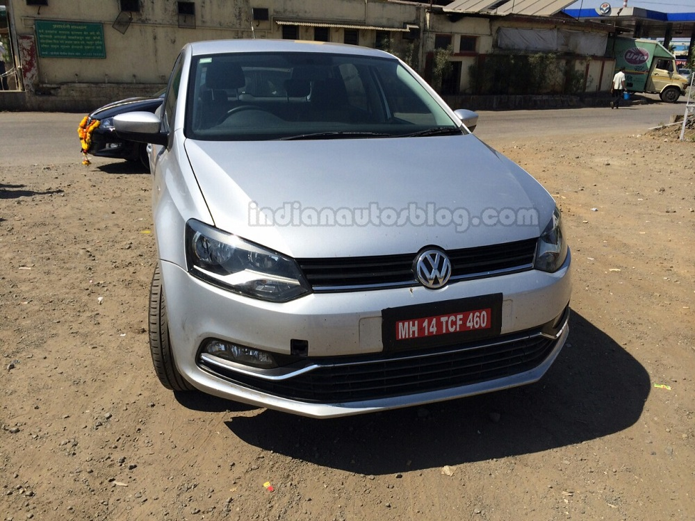 Volkswagen Polo Facelift Spied