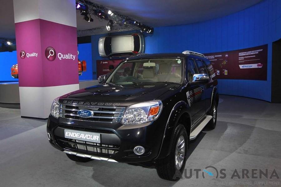 ford endeavour 2014 auto expo