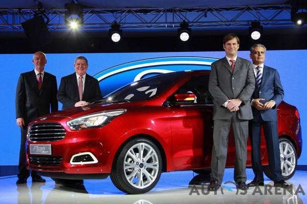 Ford Figo Sedan Concept 2014 Auto Expo